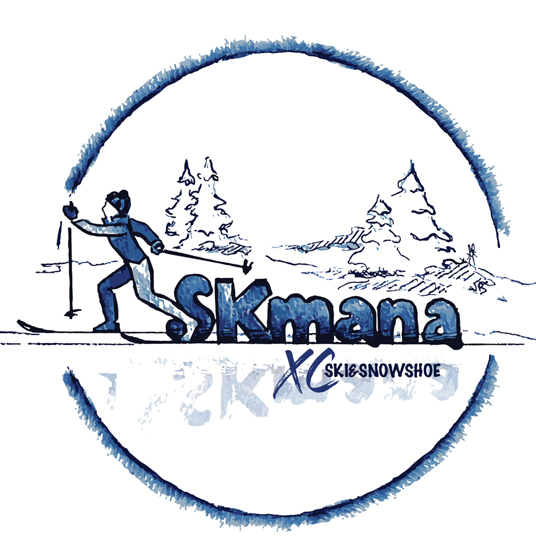 Ski Skmana - X Country & Snowshoe Trails